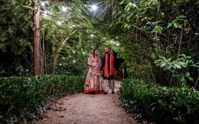 Wedding of Aayush & Rebecca at Manor by the Lake