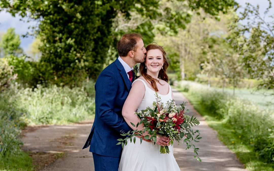 Wedding of Ed & Sally at Cripps Barn, Cotswolds